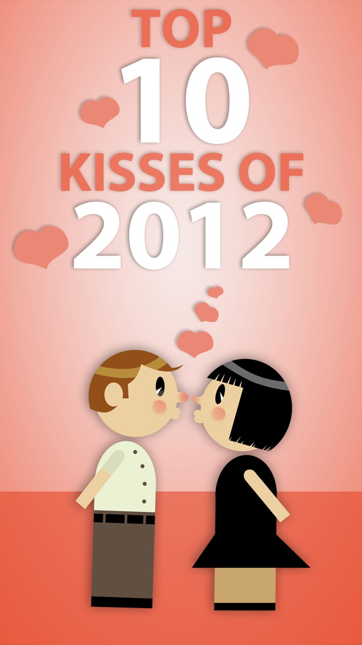 The 10 most adorable kisses of the year.