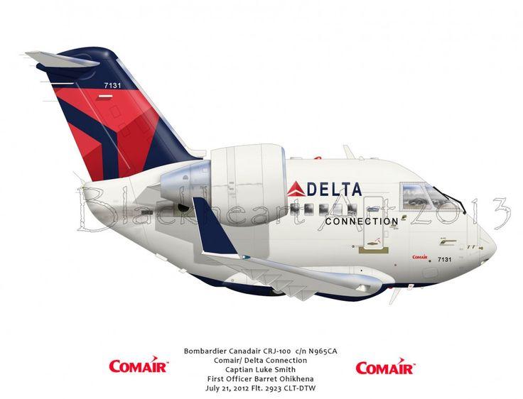 Bombardier Canadair CRJ-100 Delta Connection