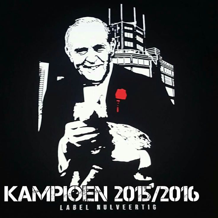 Frits Philips  PSV KAMPIOEN 2015 2016 LABEL040
