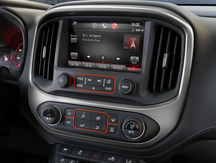 Stay safe and connected with OnStar in the 2016 GMC Canyon small pickup truck