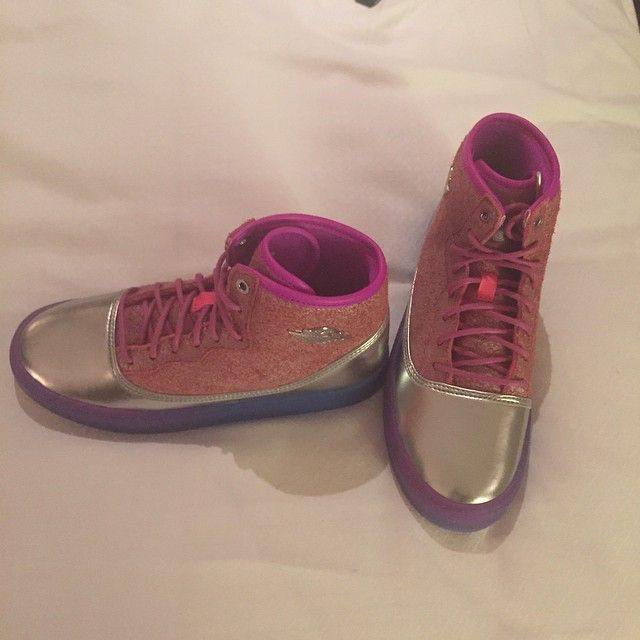 Nicki Minaj's PINKPRINT Nike Jordans are coming soon!