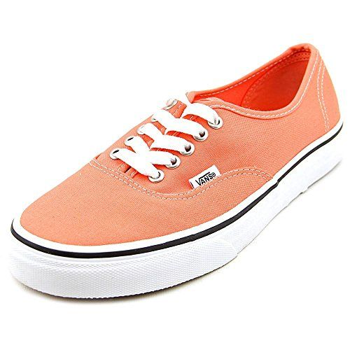 859e661102 ... Vans Authentic Skate Shoe - Womens Fusion CoralTrue White