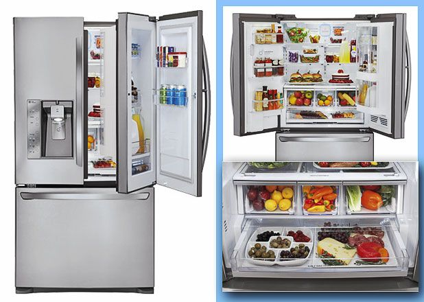 28 Best French Door Refrigerator Reviews Images On Pinterest