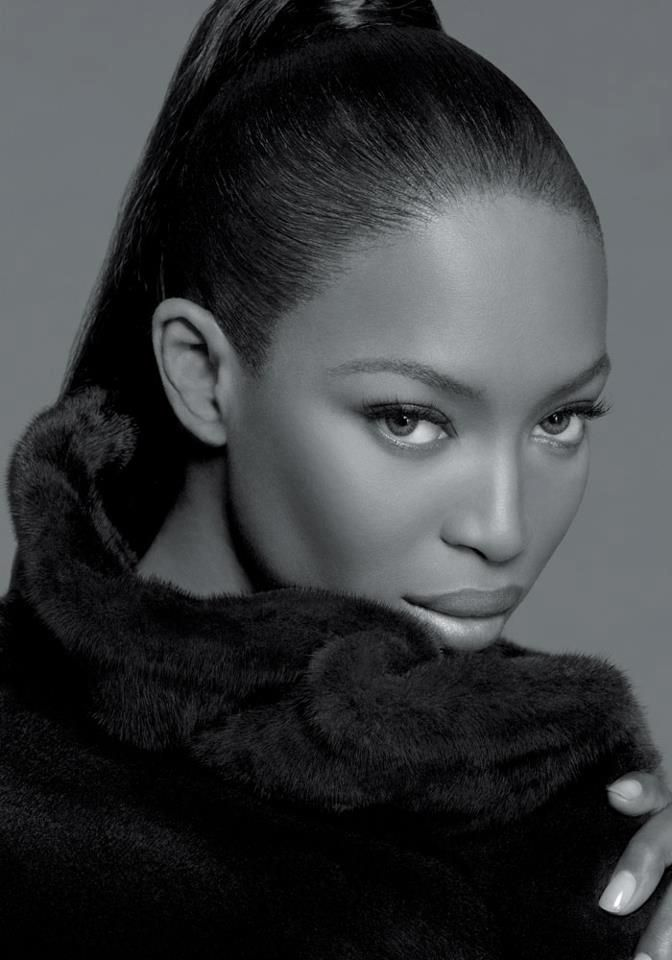 Naomi Campbell, super Model on the outside, hideously repulsive on the inside.