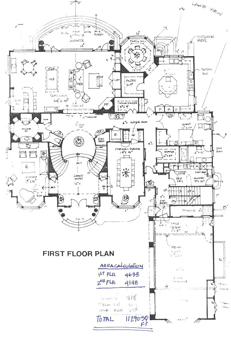 106 Best Floor Plans Images On Pinterest House Stunning Mansion
