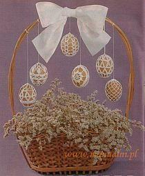 Húsvéti tojások ebben a témában felteszi koszorúk Stylowi.pl
