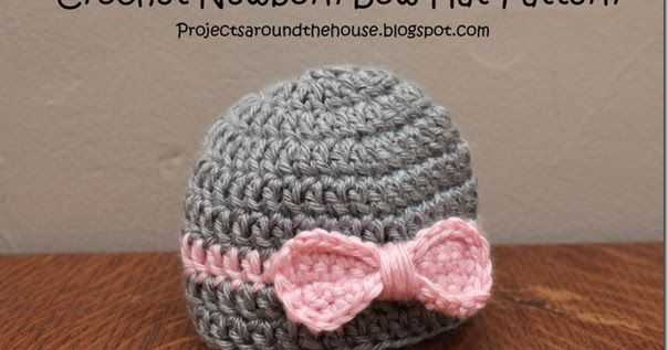 I haven't shared a free pattern in a long time! I made some baby hats  for my my friend's baby girl and shared them last week. I wanted ...