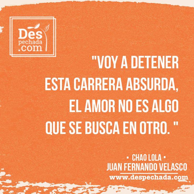 El amor se busca dentro de ti misma y www.despechada.com te ayuda a encontrarlo!