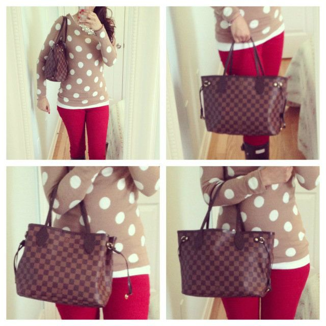 Neverfull PM in Damier Ebene by Louis Vuitton