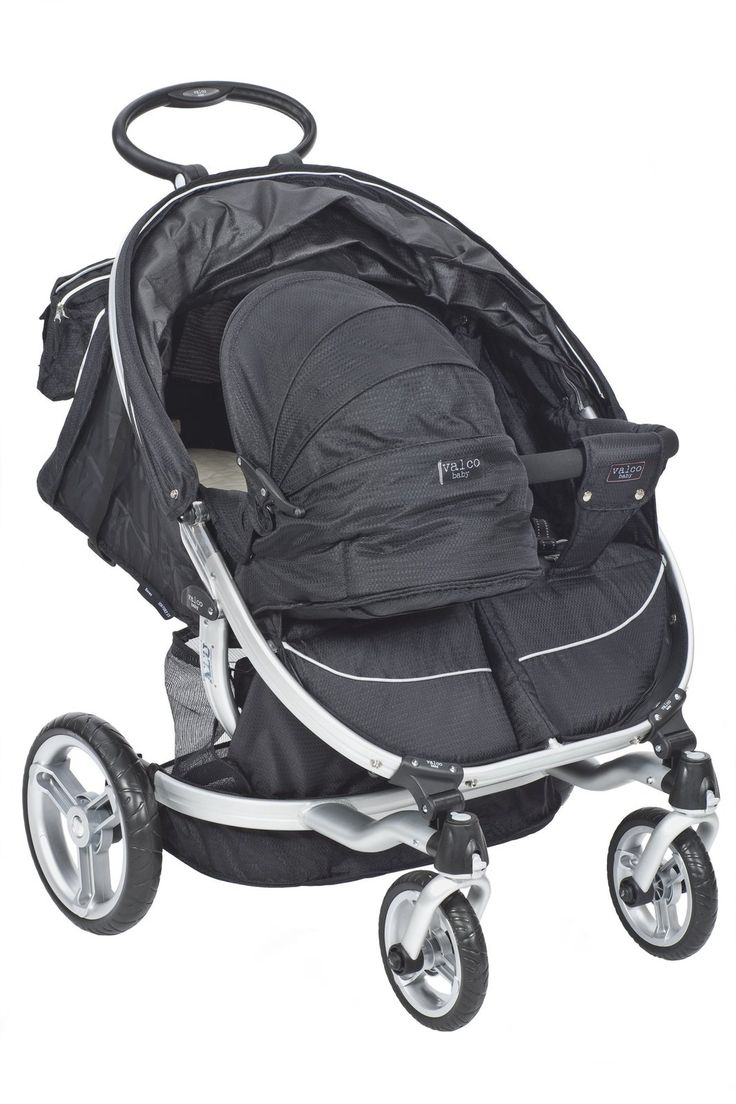 Valco baby ion twin raven baby strollers