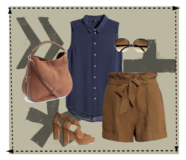 """""""Brownie"""" by girlie-contrast on Polyvore featuring H&M"""