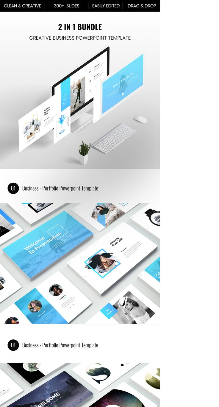 The 25 best business powerpoint templates ideas on pinterest check out my behance project bundle 2 in 1 creative business powerpoint template toneelgroepblik Choice Image