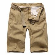 Mens Summer Multi-pocket Solid Color Cargo Pants Casual Cotton Beach Shorts is Hot-NewChic Mobile