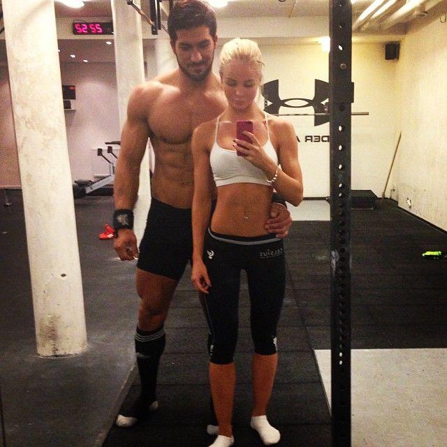 Bring It Fitness Motivation | Swedish Fitness Couple Ako Rahim & Alexandra Bring's Best Pics! [17 ...