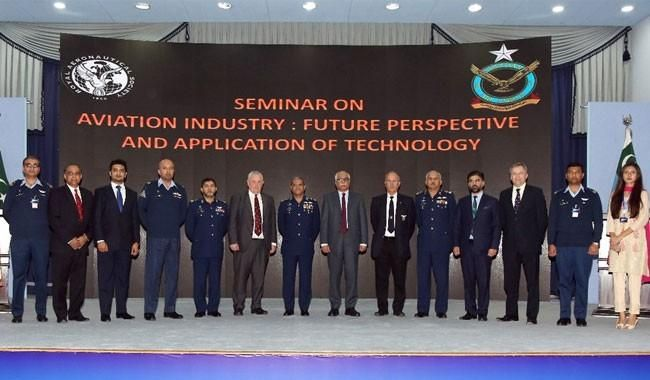 PAF holds seminar on 'Aviation Industry: Future Perspective and Application of Technology' - The News International
