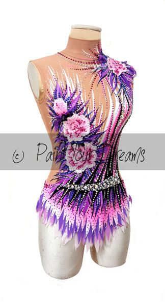 RG custom leotard number 400