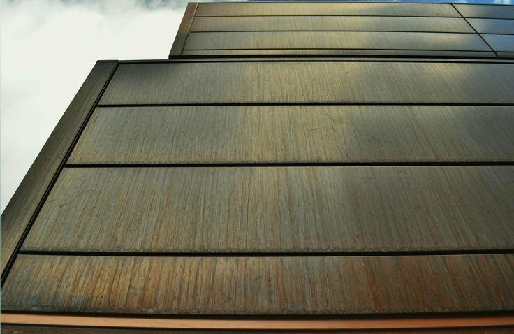 Copper interlocking panel - by Design Cladding Systems. designcladding.com.au