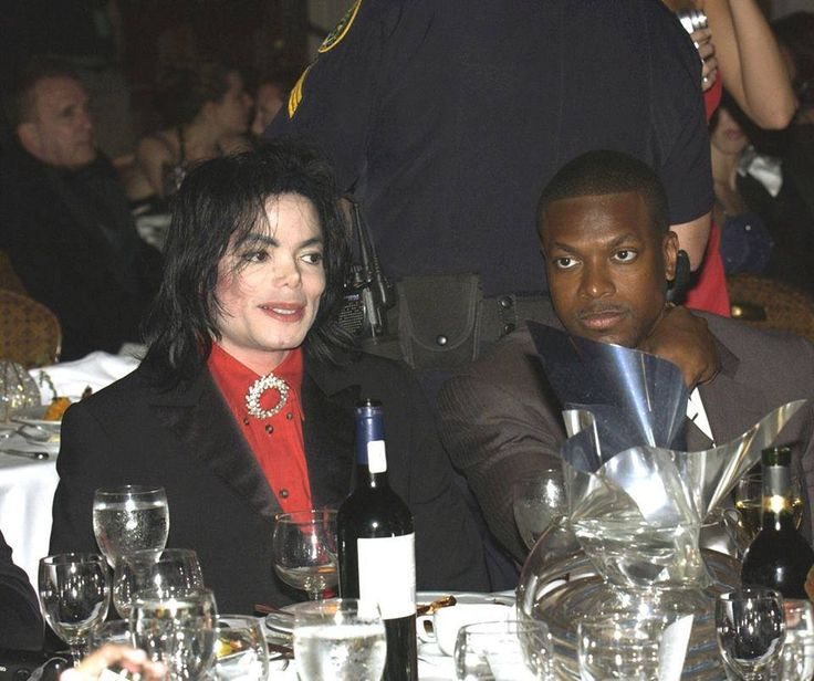 Michael with Chris Tucker ~ I love these two :)