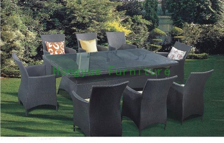 Find More Dining Room Sets Information about Grey color patio rattan dining furniture supplier,High Quality rattan lounge furniture,China furniture rattan Suppliers, Cheap rattan furniture sale from Hongyue Cane Skill Furniture on Aliexpress.com