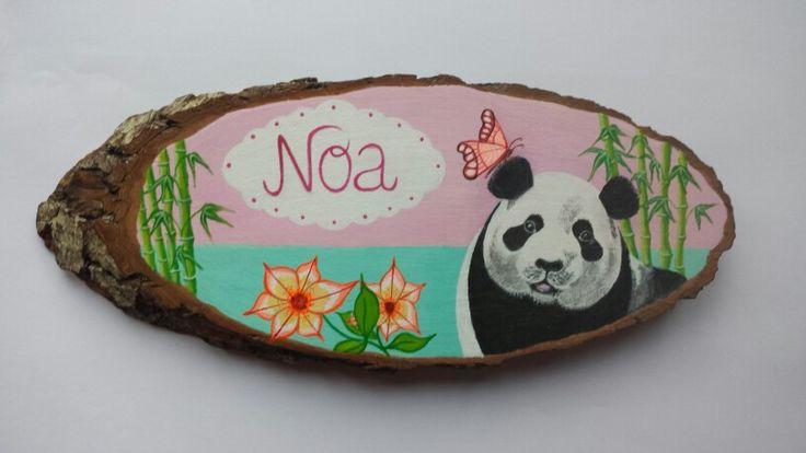 Naamschilderij Noa