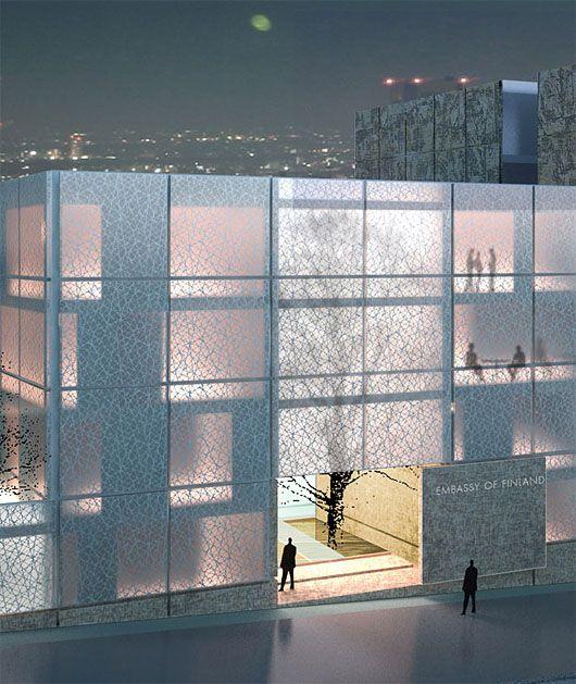 Part 1: Embassy Of Finland In Tokyo | Architects Lahdelma & Mahlamäki Ltd : plusMOOD