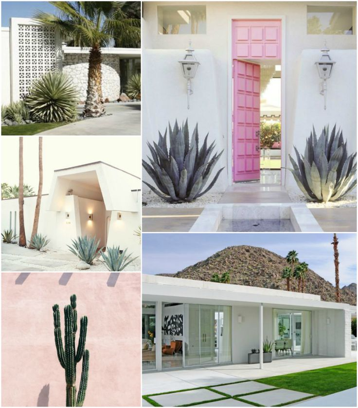 Spotlight On Palm Springs Style Outdoor Areas: 75 Best Images About Facades On Pinterest