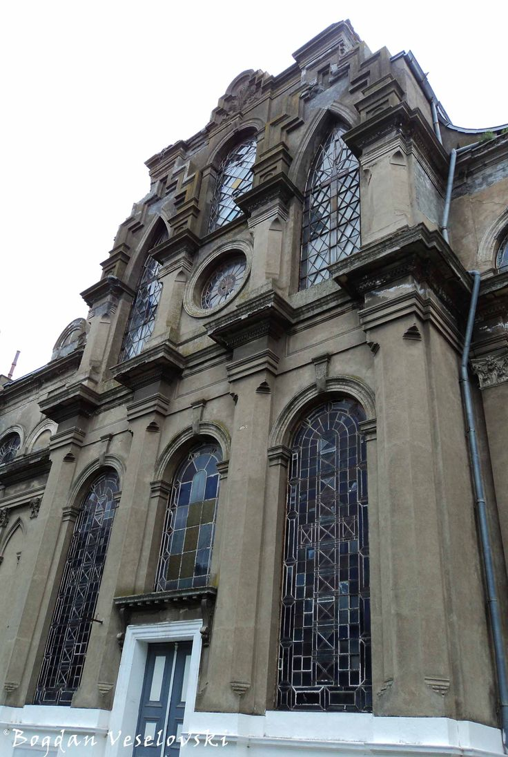 Greek Church of Braila – lateral view