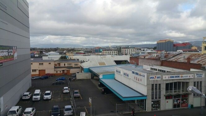 Another overcast day in Palmy.
