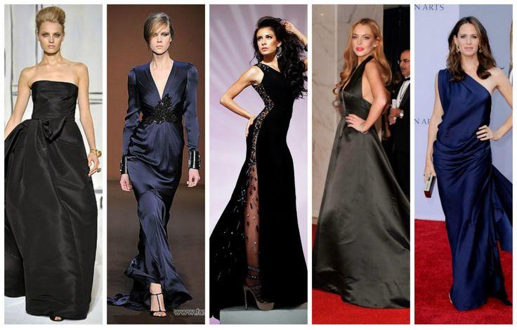 Атласные платья: как выбирать, как носить платья из атласа.