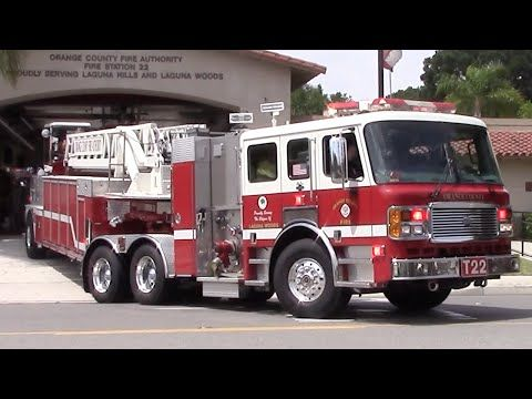 Orange County T22 Responding - YouTube