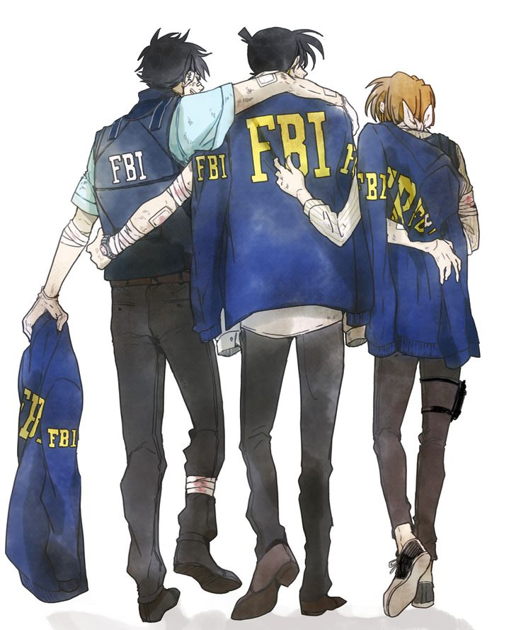 Shinichi, Kaito and Shiho  joined FBI after the end of DC & Magic Kaito 1412...