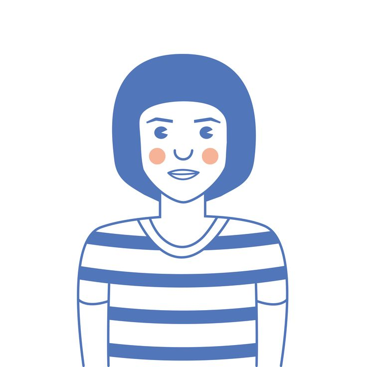 My smiling avatar