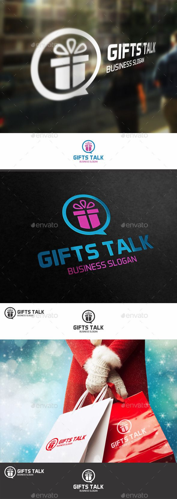 Talk About Gifts Logo - Gifts Talk Logo – Excellent logo in vector format for gifts shop logo, gift market logo, sell gifts, present shop, shops, e-shops, online shop, e-market, tv shop, shopping tv, online shopping, e-store, retail businesses, social network, holiday chat, forum, gifts service, souvenir business, shopping stores, tech support, and related companies. You can easily change the text. You can freely experiment with color.