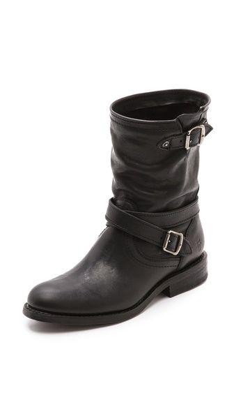 I want these!!! Frye Jayden Cross Engineer Boots