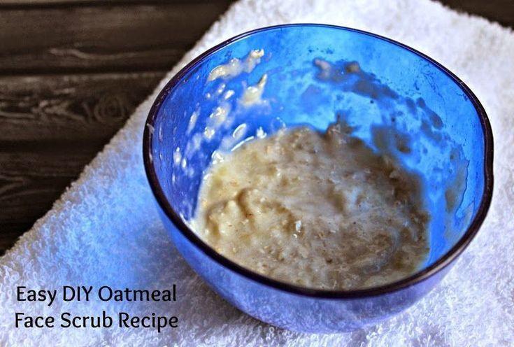 Easy DIY Oatmeal Face Mask Recipe #MyDawnSummer Face Scrub #DDDivas (sponsored) …