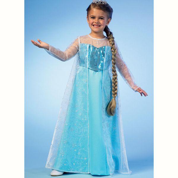 Mutter-Tochter Kostüme, McCall´s M7000