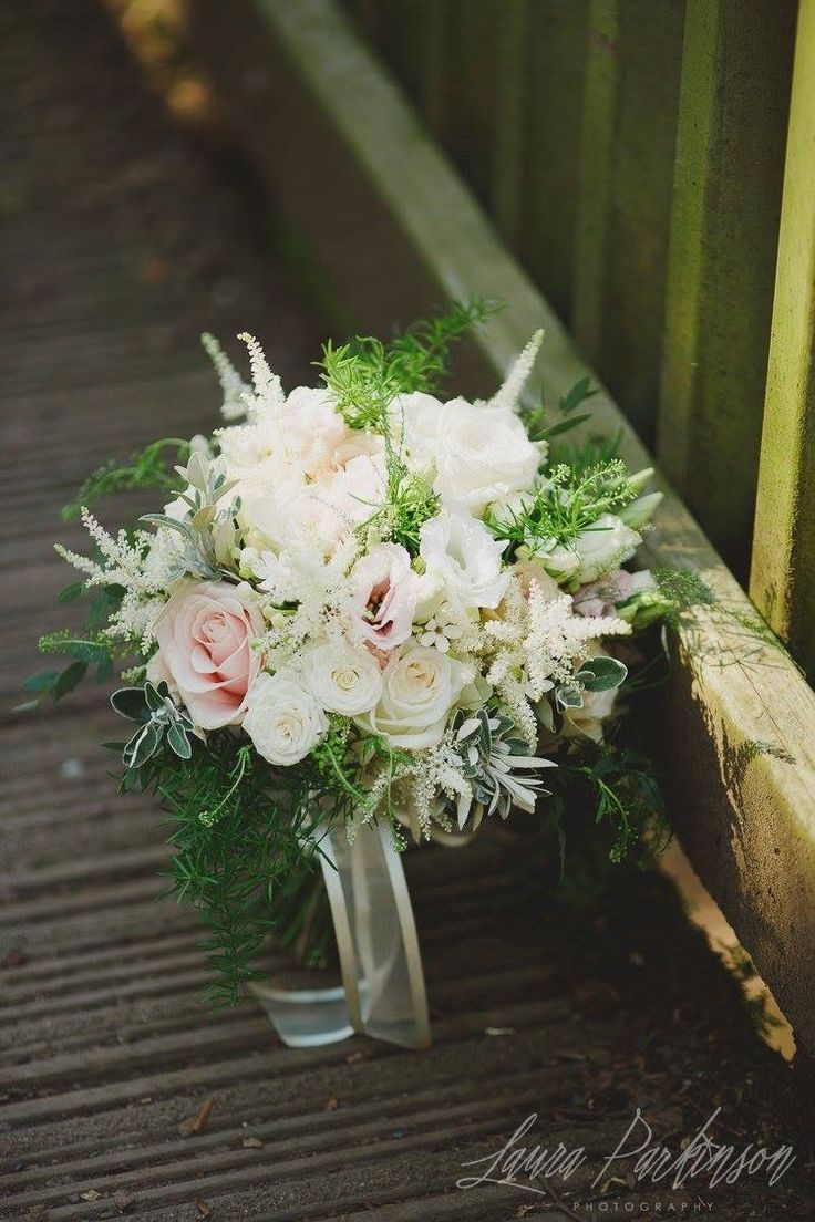 Flowers by shirley garden rose bouquets - Pale Blush Bouquet With O Hara Roses Quicksand Roses Astilbe Lisianthus