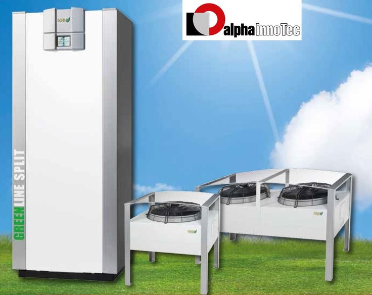 PAC ait - KNV pour une installation extérieure Alpha Innotec
