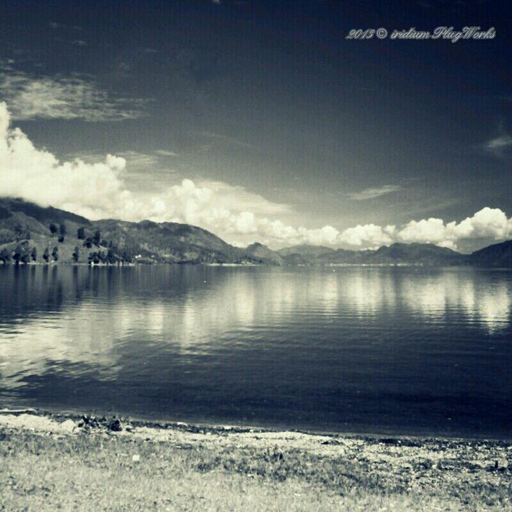Lut Tawar lake in Takengon, Central Aceh