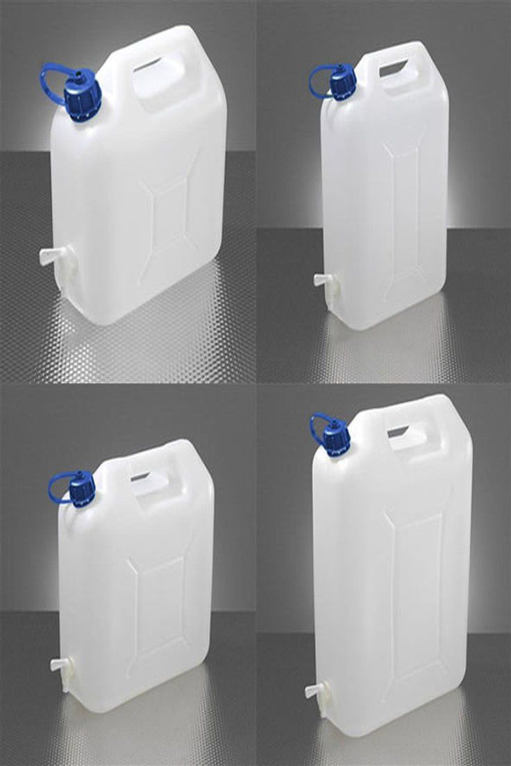 Plastic Water Jerry Can Food Grade Container Bottle Pouring Tap 5 10 15 20 Litre Jerry Can Canned Food Canning