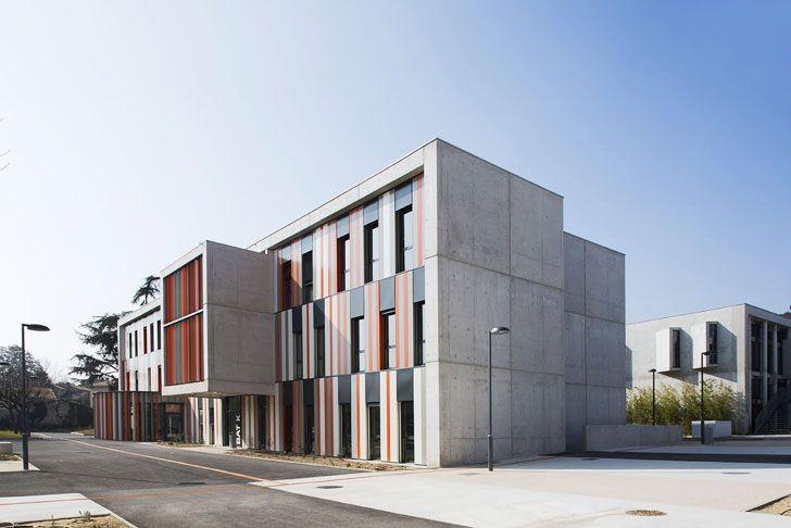 Modern school design architecture google search for Exterior design institute