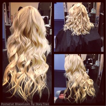 By Staiy Tran.  @Bloom.com THISSSS is the color of halo couture extensions im getting i think