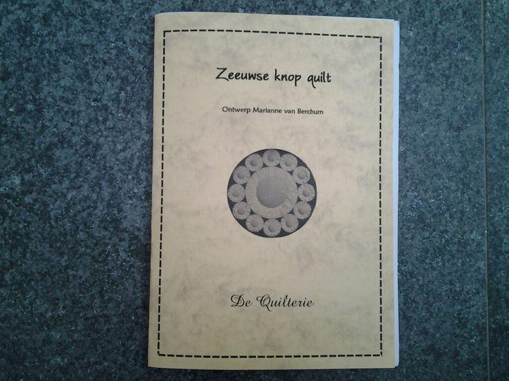 Nu ook als patroon te koop, de Zeeuwse knop quilt van Marianne van Berchum