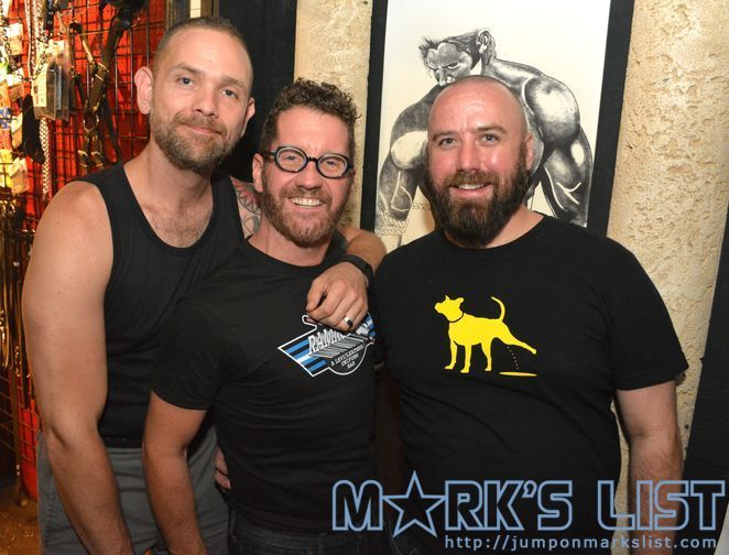 Ramrod's 21st Anniversary Party  #RamrodBar is a #Leather and #Levi #CruiseBar in #FortLauderdale, FL and features a #Leatherwerks outpost. They recently hosted a party for their 21st Anniversary with a balloon drop with prizes and cake. #gay #markslist http://www.jumponmarkslist.com/us/fl/fll/images/mp/ramrod/2015/091315_1.php