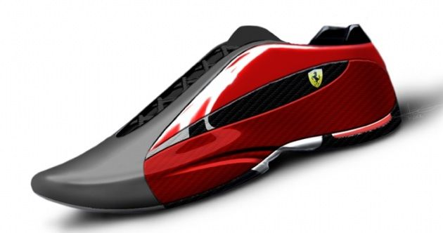 Ferrari, Ducati sneakers