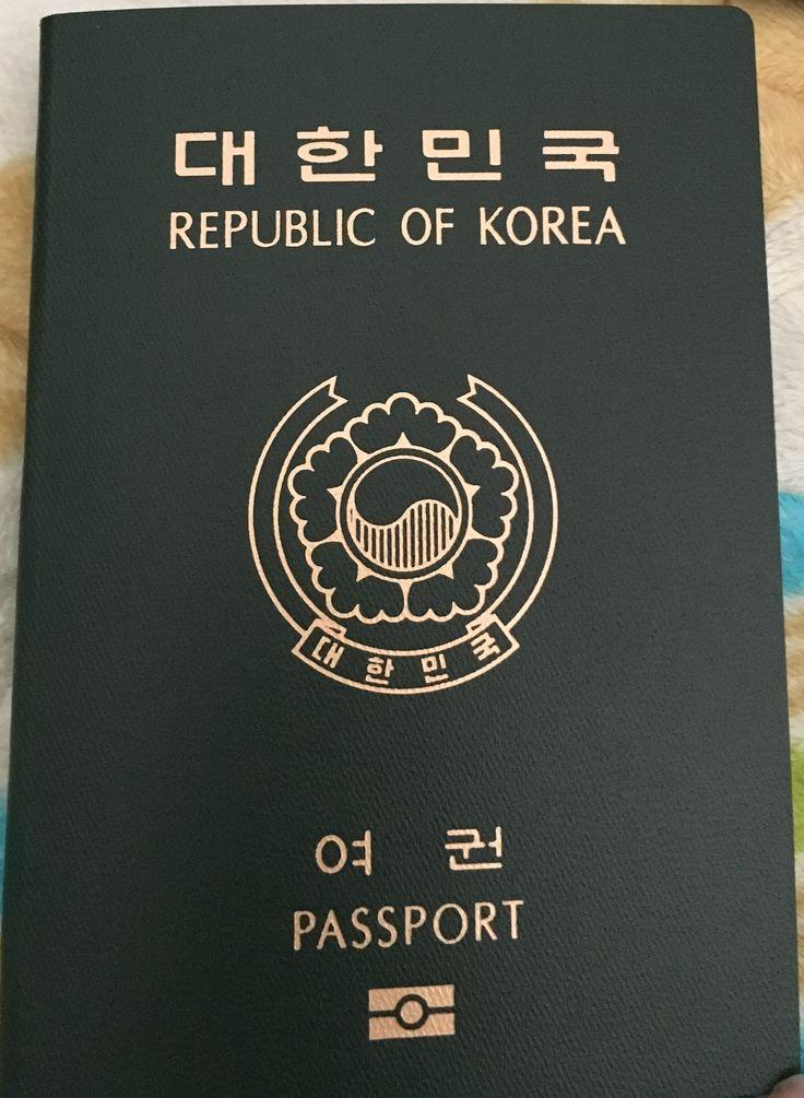 PyeongChang 2018 :: Winter Olympics Party :: Passport of South Korea