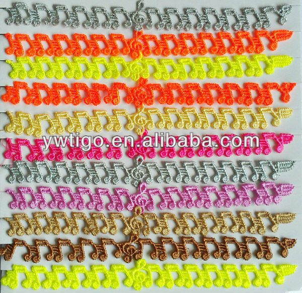 wholesale fashion knitted lace butterfly bracelet