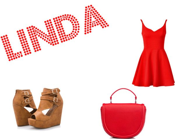 """linda"" by carolinaborgasimoes on Polyvore"
