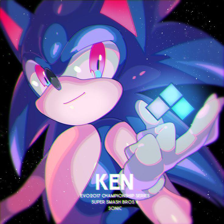 EVO 2017 KEN yasaikakiage Sonic art, Sonic, Sonic the