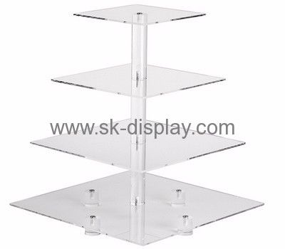 Perspex manufacturers customized tiered square acrylic cake stand SOD-212  sc 1 st  Pinterest & 614 best Acrylic stand and holders images on Pinterest | Acrylic ...